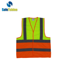 biocolor high light Vest met reflecterende strips
