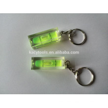 spirit level -black base,1 bubble level indicate level gift bubble key chain spirit level