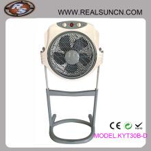 Ventilador de caixa de 12 polegadas com função de suporte