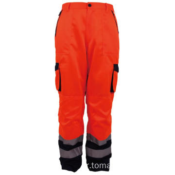 Hi Vis Ασφαλείας Reflective Workwear Pant