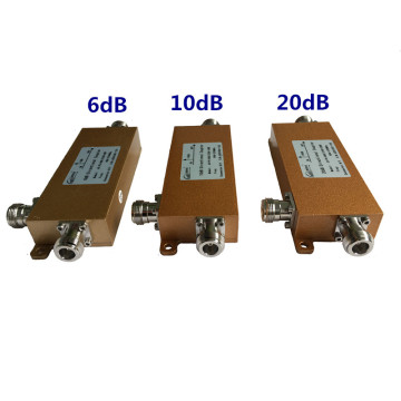 6/10 / 20dB Dirctional Coupler 698-2700MHz