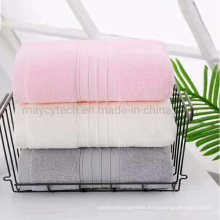 Multi-Purpose 100% Cotton Hotel Bathrobe SPA Beauty Hair Towel, Airline Hand Face Towel OEM, Eco Friendly Beach Sports Bath Towel with Hook