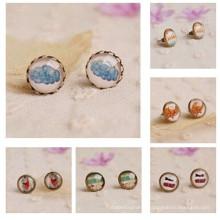 lovers Jewelry light blue Earing Stud Earrings