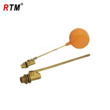 válvula de flutuador de latão quente venda com bola de plástico