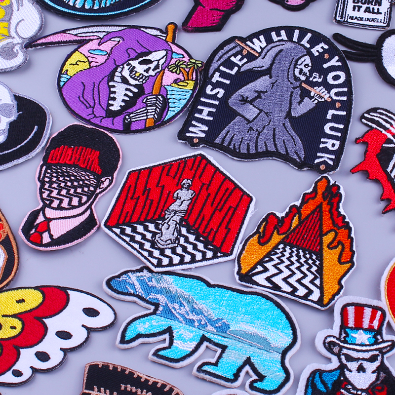 Badge On Clothes Embroidery