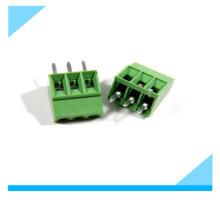 Bloco terminal de parafuso da montagem do PWB do Pin do passo 3 de 2.54mm