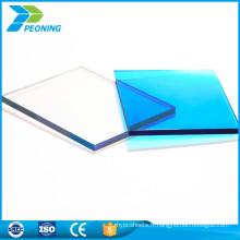 Hot sell PC double paroi uv en polycarbonate solide pc sol 10mm
