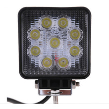 Aluminum 27W 60 degree 10-60 v flood light for car
