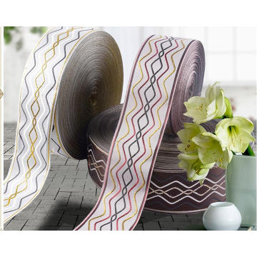 Hot Selling 100% Polyester Hair Accessories Woven Ribbon