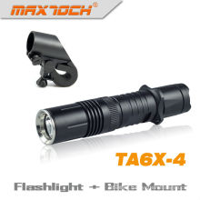 Maxtoch TA6X-4 Durable Cree XML T6 Bike Light Tactical LED Rechargeable Torch