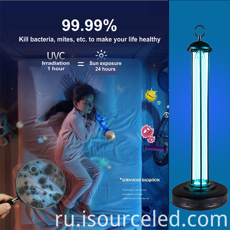 Beautiful 38w led disinfection lamp for small rooms