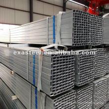 Stahlrohr / quadratisches Stahlrohr / verzinktes Stahlrohr