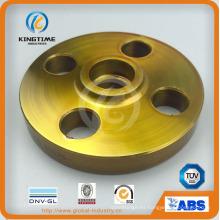 Brida forjada del reborde de la soldadura del zócalo del acero de carbono A105n con TUV (KT0245)
