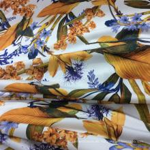 Flor nueva de diseño Digital de punto impreso / tela del vestido de Jersey