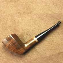 "Gorgeous 5.5"" Tobacco Top Quality Smoking Wooden Pipe"