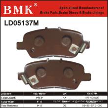 Advanced Quality Brake Pads (D5137M)