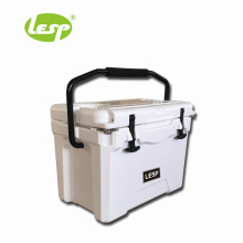 Foldable high-efficiency rotomolding insulated cold boxes