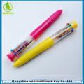 Cute plastic 10 color ball pen, multicolor ballpoint pen,promotional 10 in 1 multicolor pen for students