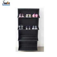 Optional color steel rotating shoe rack space-saving rotating shoe rack best price shoe rack cabinet