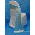 Venta al por mayor de la boda azul claro sillón silla sash