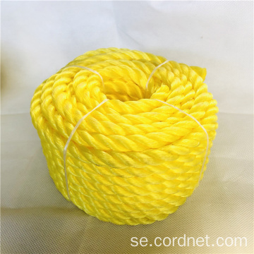 12mm Yellow Twist PE-rep med lågt pris