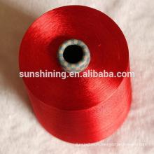 filaments de viscose teints