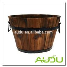 Audu French Wood Planter/Wooden Planter/Wood Flower Planter