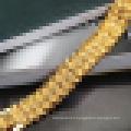 Bijoux Plaqué Or Fashion18k Hommes Grand Bracelet Exagéré