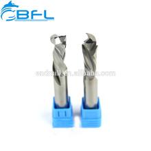 Концевая фреза BFL с твердосплавным покрытием 1 фреза с верхним и нижним вырезом