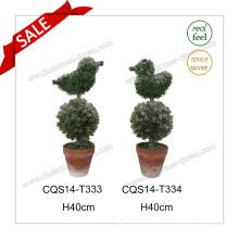 H40cm Wholesale Artificial Plants for Wedding Decoration Bonsai Silk Flower