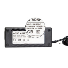 AD-EL-120360 plug insert wall type DC 12V3A LED adaptor power supply desktop adapter