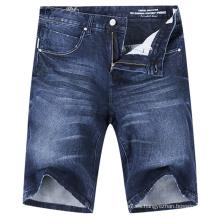 Pantalones cortos de mezclilla ocasionales cortos Jean de los hombres de la moda del OEM