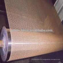 Uma peça personalizada UV resistência PTFE Teflon malha de secador de cinto