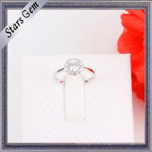 Nueva joyería romántica de plata del anillo de la manera del estilo 925
