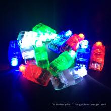 Doigt de LED de lumières de lumières de décoration de partie LED