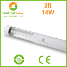 Strip 3528 T8 tubo de LED con cubierta de plástico