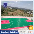 Ao ar livre suspender telhas para badminton / basquete / quadra de tênis