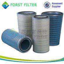 Cartucho del filtro de aire de la toma de la turbina de gas de Forst