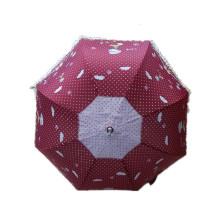 Red Printing Staight Umbrella (JYSU-21)