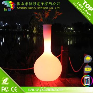 Garden Flower Pot with LED Light