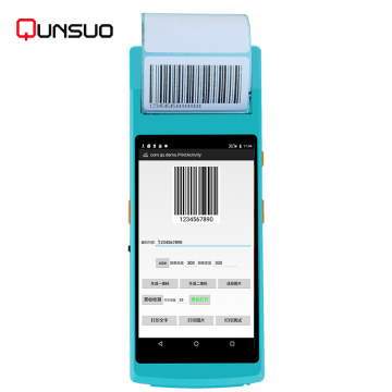 Robuster Computer Barcode Scanner Android Handheld PDA