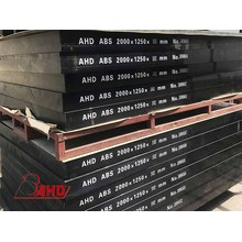 Black ABS Plastic Sheet Blocks For Machining