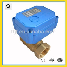"""DC12V motor ball valve with 1/4"""",1/2"""",3/4"""",1"""" valve AC24V DC12V for wate treatment project."""