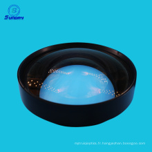 Lentille sphérique en verre optique BBAR 400-700nm