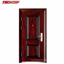 TPS-025 Exterior Safety Stainless Steel Cheap Large Industrial Door