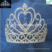Coroa encantadora de dança de diamante de beleza
