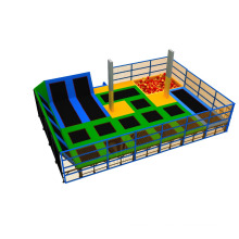 Professional Manufacturer GS Rectangle Commercial Indoor Olympic Size Trampoline