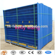 Haotian powder coated temporary fence for Canada factory