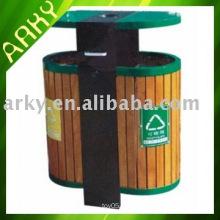 Boîte à poussière en bois extérieure de bonne qualité