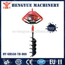 Handbohrer-Handbohrer der hohen Qualität grabender Maschine benutzte Bodenbohrer
